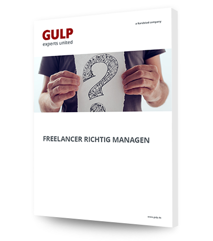 Freelancer richtig Managen Mockup