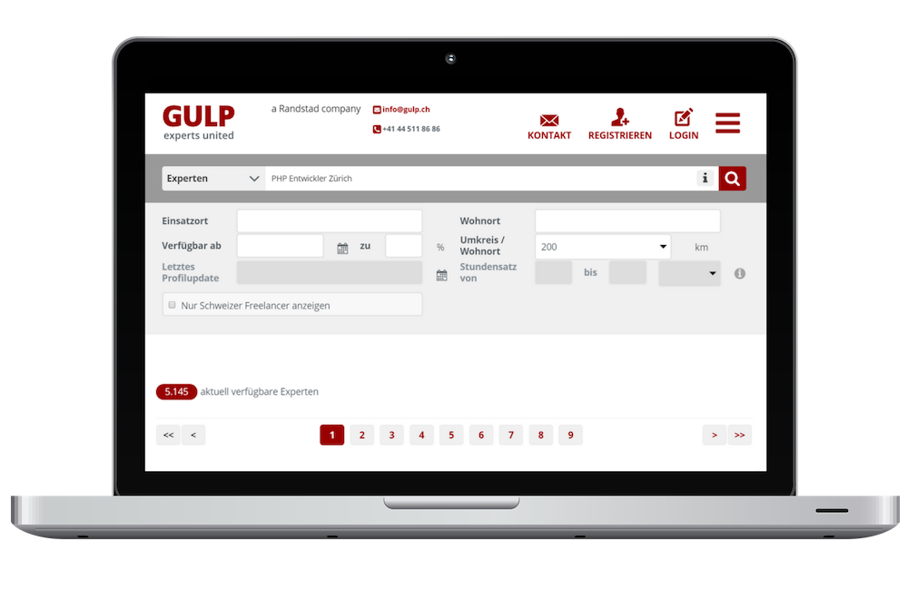 GULP Direkt Freelancer Plattform