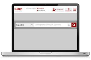 Projektbörse GULP direkt Freelancer finden Screenshot