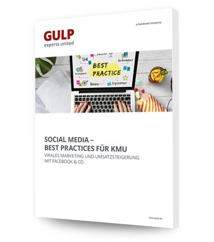 Social Media für Unternehmen Cover - GULP Direkt